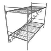 купить кровать двухъярусную для рабочих и общежитий москва
