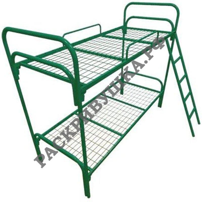 купить двухъярусную кровать с лестницей москва