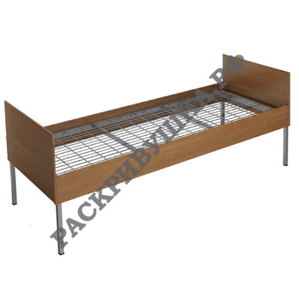 кровать одноярусная с лдсп