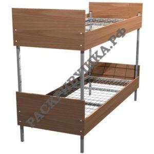 купить кровать двухъярусную, кровати металлические москва