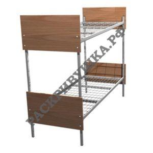 кровать двухъярусная с двойным усилением