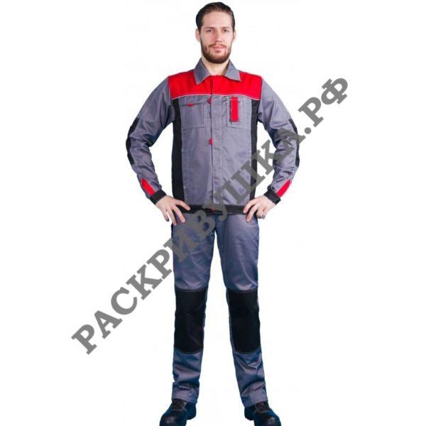костюм для автосервисов и автомастерских